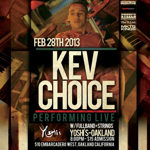 Kev Choice Live at Yoshi's Oakland