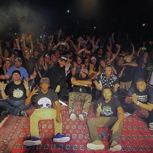 Jackson Hole Crowd Selfie